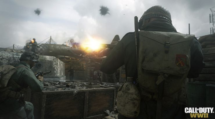 Call of Duty: WWII Screen Shot 2, Full Version, Free PC Game,