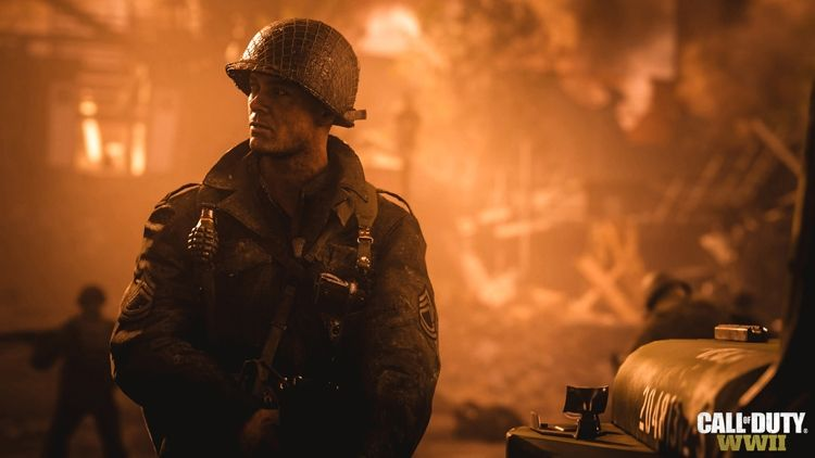 Call of Duty: WWII Screen Shot 1, Full Version, Free PC Game,