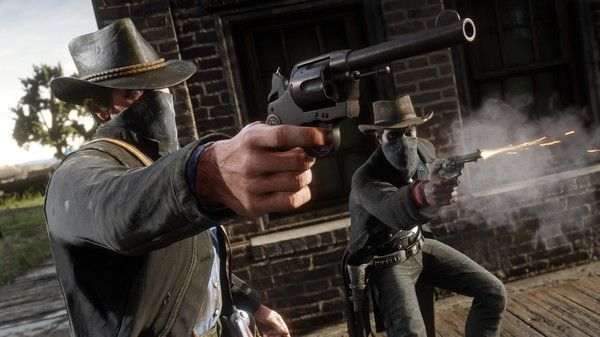 Red Dead Redemption 2 Screen Shot 1, Full Version, Free PC Game,