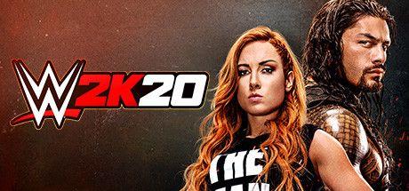 WWE 2K20 Poster, Box, Full Version, Free PC Game,