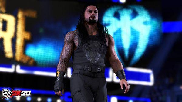 WWE 2K20 Screen Shot 1, Full Version, Free PC Game,
