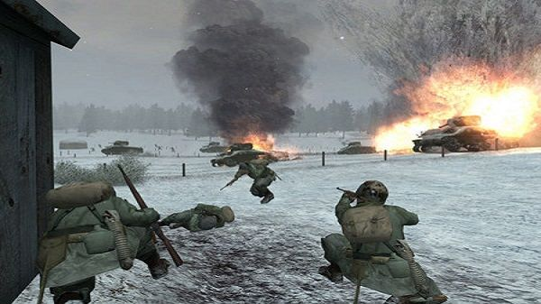 Call of Duty: United Offensive Screen Shot 1, Full Version, Free PC Game,