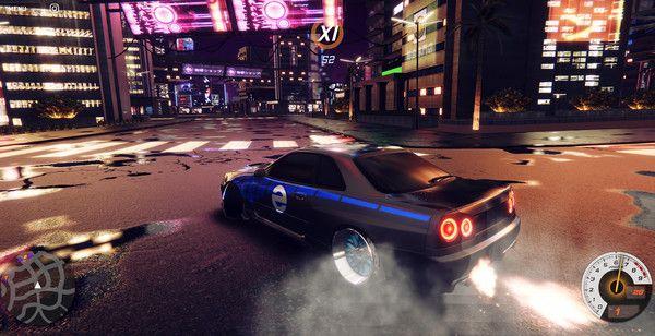 CrashMetal - Cyberpunk Screen Shot 3, Full Version, Free PC Game,