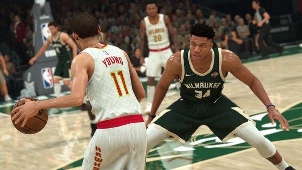 NBA 2K21 Screen Shot 1, Full Version, Free PC Game,