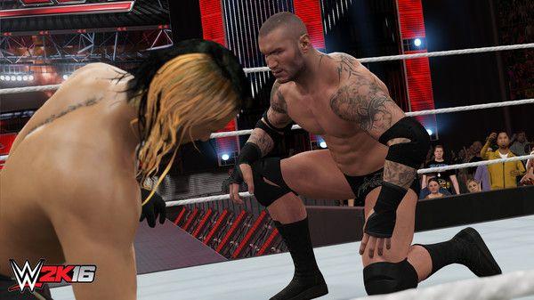 WWE 2K16 Screen Shot 1, Full Version, Free PC Game,