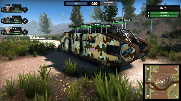 Armored Battle Crew Screen Shot 3, Download, PC Game