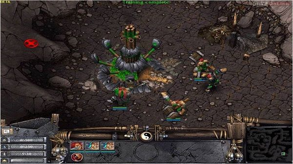 Battle Realms: Winter of the Wolf Screen Shot 3, Download
