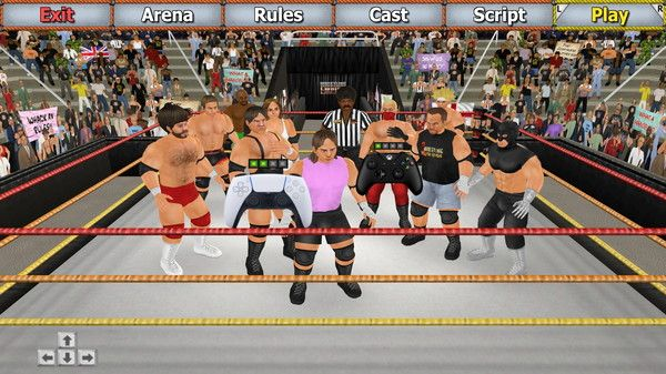 Wrestling Empire Screen Shot 2